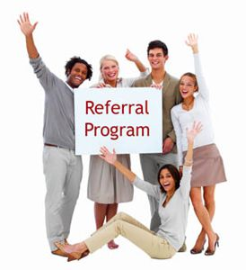 We Love Referrals - Read About Our Referral Program